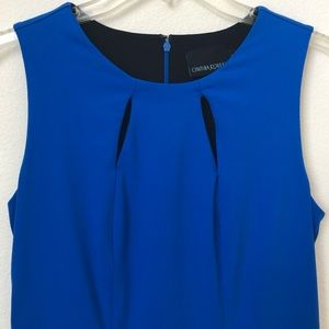 Cynthia Rowley blue sleeveless dress